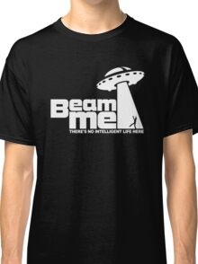 Beam me up V.2.2 (white) Classic T-Shirt