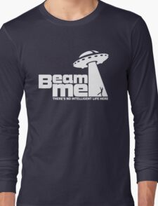 Beam me up V.2.2 (white) Long Sleeve T-Shirt