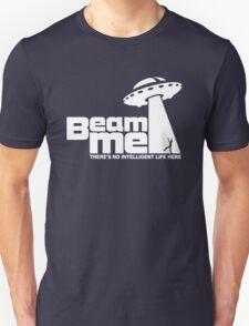 Beam me up V.2.2 (white) Unisex T-Shirt