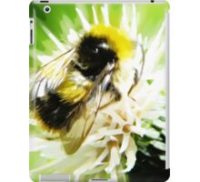 Bumble Bee oil painting iPad Case/Skin