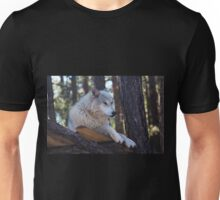Timber Wolf Sentinel Unisex T-Shirt