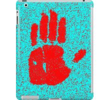 Hand red iPad Case/Skin