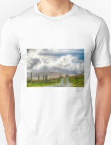 The mountain track Unisex T-Shirt