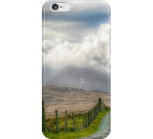 The mountain track iPhone Case/Skin