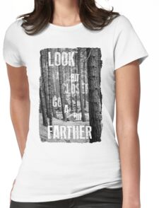 Look Closer Womens Fitted T-Shirt