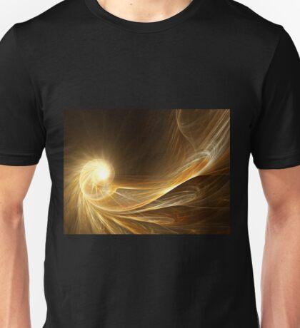 Golden Spiral - Abstract Fractal Artwork T-Shirt