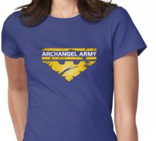 ME2 - Archangel Army Womens Fitted T-Shirt