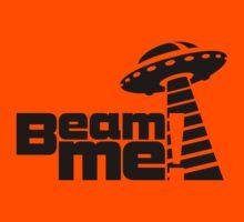Beam me up V.3.1 (black) Kids Tee