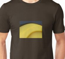 Yellow and Black Abstract Unisex T-Shirt