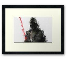 Dark Framed Print
