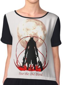 Fear the Old Blood Chiffon Top