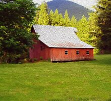 Big Red Barn by MichaelWick