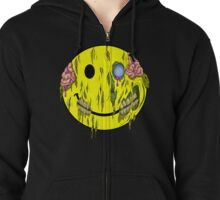 Happy (Zombie) Face Zipped Hoodie