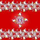 Music Moogle (Red&Purple) by Rhaenys