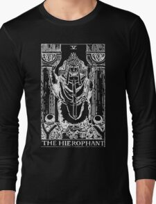 The Hierophant Long Sleeve T-Shirt