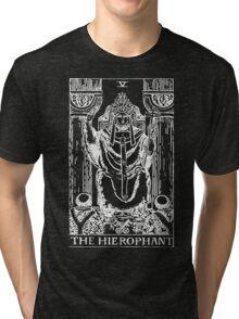 The Hierophant Tri-blend T-Shirt