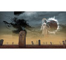 Graveyard of Dead Gods Photographic Print