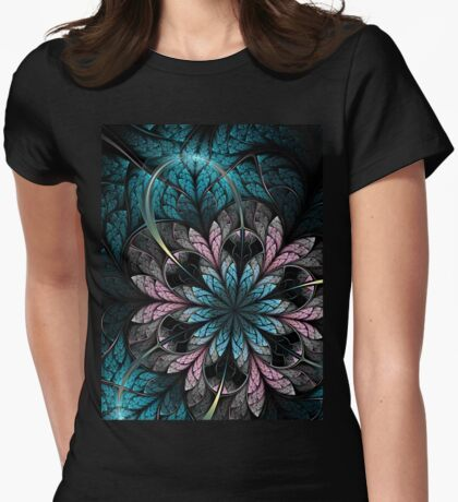 Flower III - Abstract Fractal Artwork T-Shirt