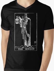 The Hermit Mens V-Neck T-Shirt