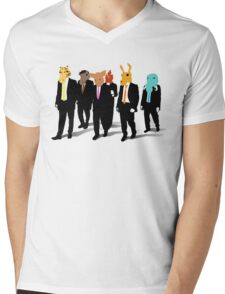 Hotline Miami (Reservoir Dogs) Mens V-Neck T-Shirt