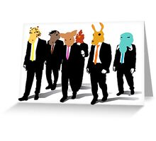 Hotline Miami (Reservoir Dogs) Greeting Card