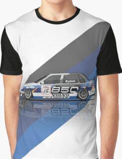 Volvo 850 Saloon TWR BTCC Racing Super Touring Car (1995) Graphic T-Shirt