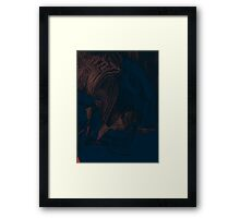 abstract difference Framed Print