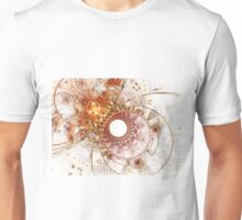 Fiery Temperament - Abstract Fractal Artwork Unisex T-Shirt