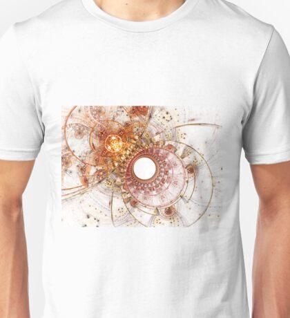 Fiery Temperament - Abstract Fractal Artwork T-Shirt