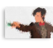 Eleventh Doctor - Doctor Who Metal Print