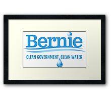 Bernie - Clean Government. Clean Environment Framed Print