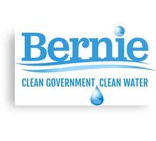 Bernie - Clean Government. Clean Environment Canvas Print