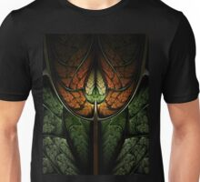Elven Forest - Abstract Fractal Artwork Unisex T-Shirt