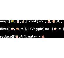 Emoji Coding Photographic Print