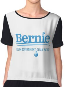 Bernie - Clean Government. Clean Environment Chiffon Top