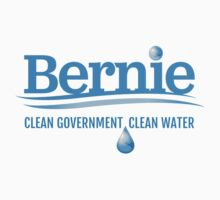 Bernie - Clean Government. Clean Environment One Piece - Short Sleeve