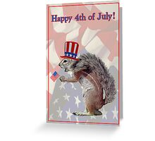 Happy 4th July Greeting Card