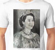 Queen Elizabeth II by MB Unisex T-Shirt