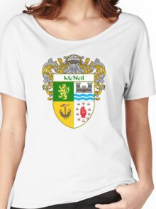 McNeil Coat of Arms/Family Crest Women's Relaxed Fit T-Shirt