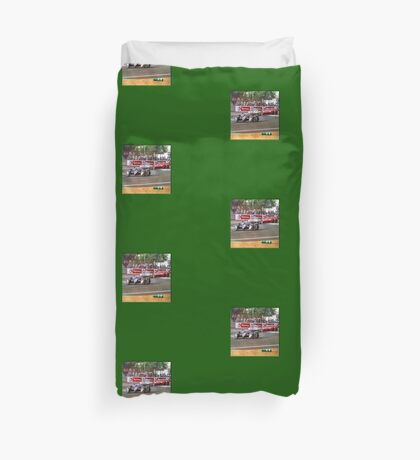 24 h de Le Mans - Vintage - Bentley #8 Bend Duvet Cover
