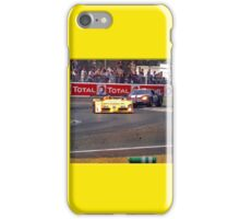 24 h de Le Mans - Vintage - Bend iPhone Case/Skin