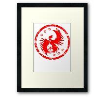 Firehawk Framed Print