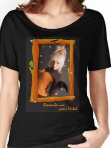 Witch's Portrait Women's Relaxed Fit T-Shirt