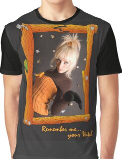 Witch's Portrait Graphic T-Shirt