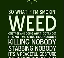 Weed Poster Original by JimmyHenryy