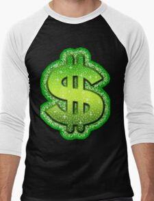 dollar Men's Baseball ¾ T-Shirt