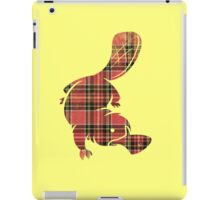 plaidypus  iPad Case/Skin