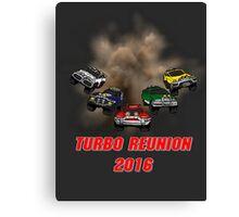 Turbo Reunion 2016 (Zords) Canvas Print