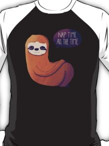 Nap Time, All The Time T-Shirt