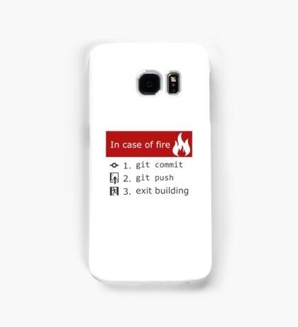 Git on Fire Samsung Galaxy Case/Skin